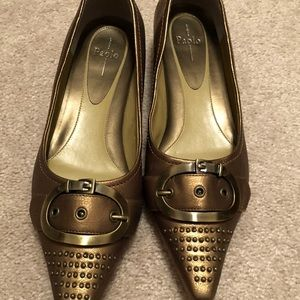 Paolo pointed toe flats - like new